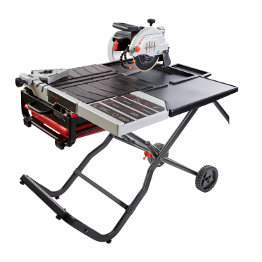 On A 24 X Tile And Can Execute 34 Rip Cut 39 With Plunge The Beast10 Is Shown Optional Gravity Folding Stand Side Water