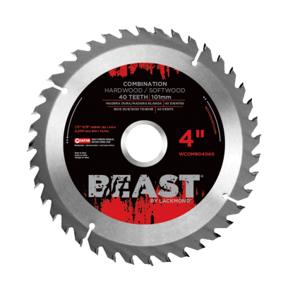 "Beast 4"" Combination Blades"