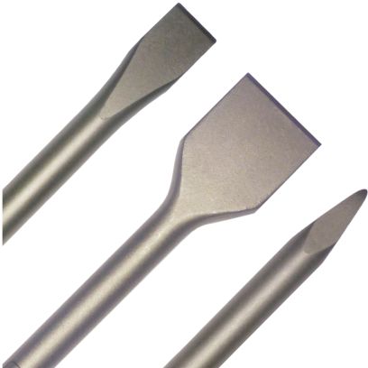 "Chisels / Accessories - 3/4"" Hex"