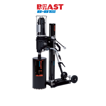 Beast / B+BTec Professional Mast Mounted Core Drill Rig