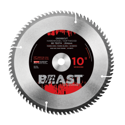 Beast Crosscut Blades - ATB Grind