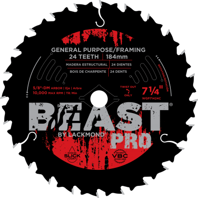 Beast pro general purpose framing blades